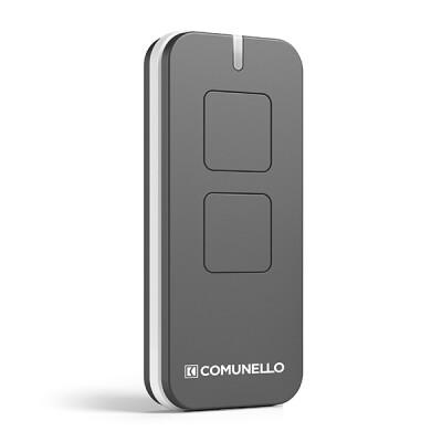 Comunello Victor handzender – 2-kanaals – Rolling code – Grijs