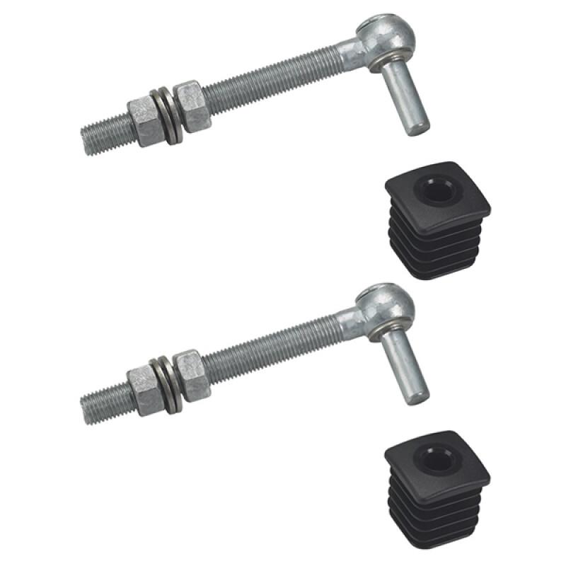 Locinox GBM16 tuinpoortscharnier – M16 – 160 mm – Set van 2 stuks