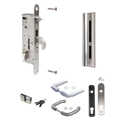 Locinox H-Metal insteekslot – Klink KL37 – RVS – Metaal cilinder – 54 mm
