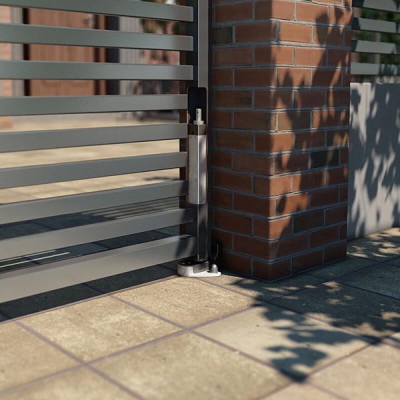 Locinox grondbevestigingsset voor INTERIO poortsluiter