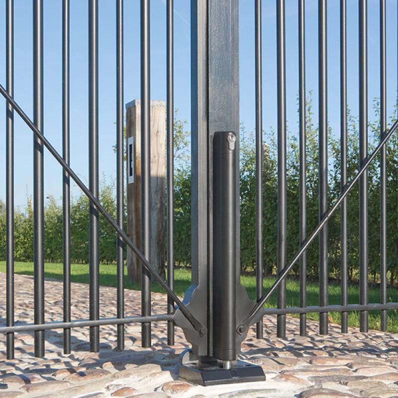 Locinox OGS grondstop – Regelbaar voor poorten