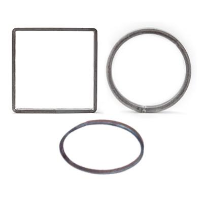 Ringen, ovalen & vierkanten