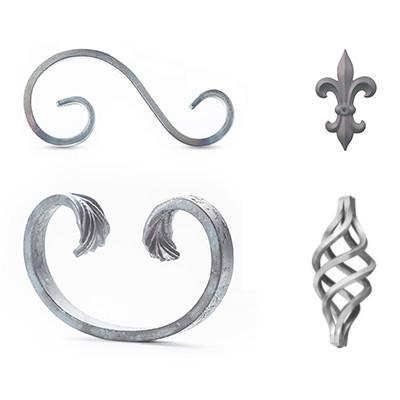 Krullen & sierornamenten
