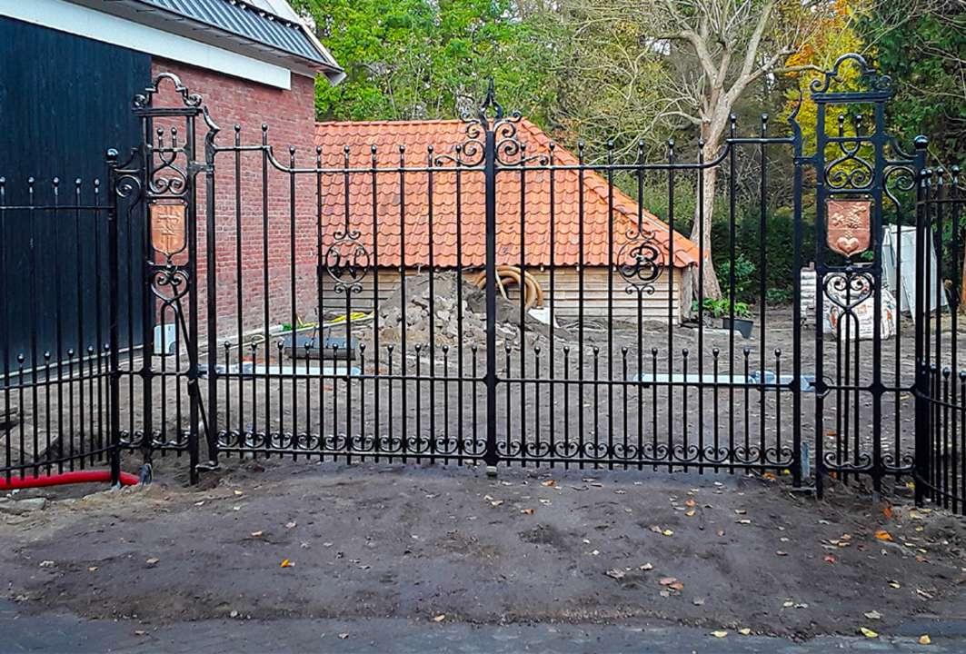 Werk in uitvoering: poort- & garagedeuropener