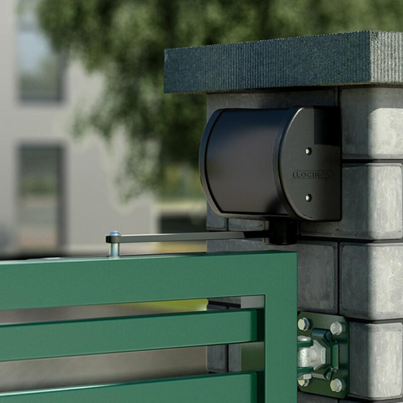Locinox PANTHER all-round hydraulische poortsluiter – RAL 9005