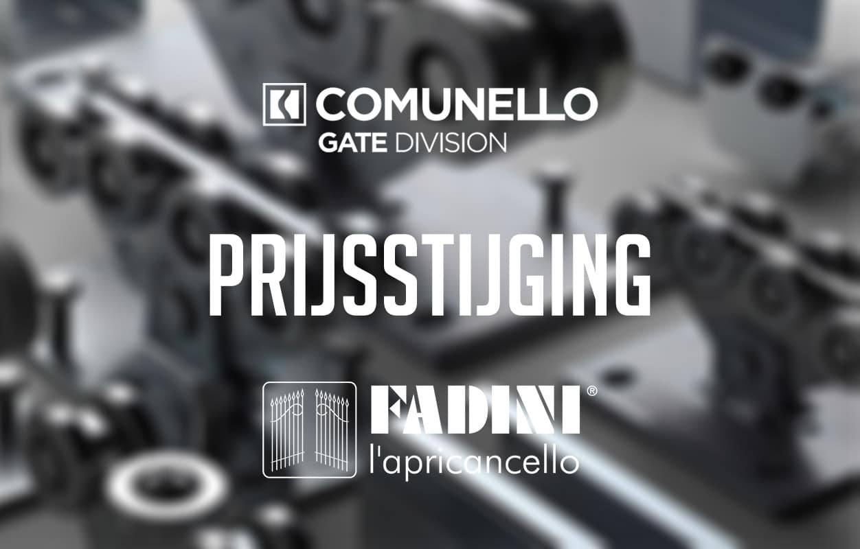 Prijsstijging Fadini & Comunello