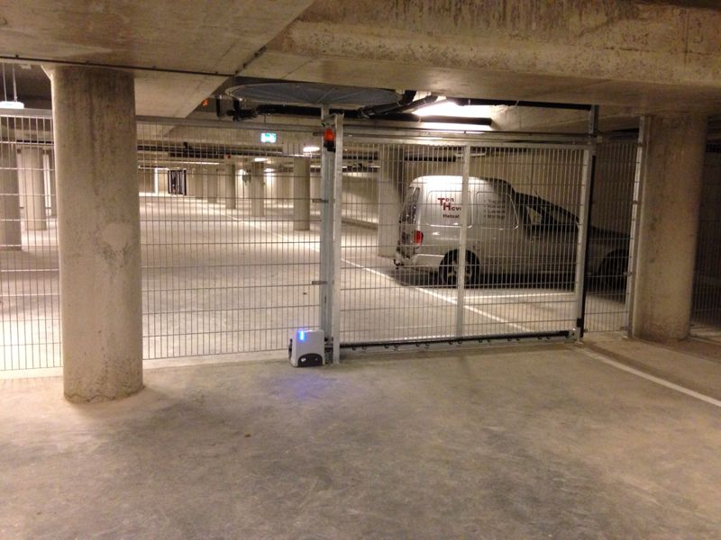 Fadini Kit Junior 650 schuifpoortopener in garage