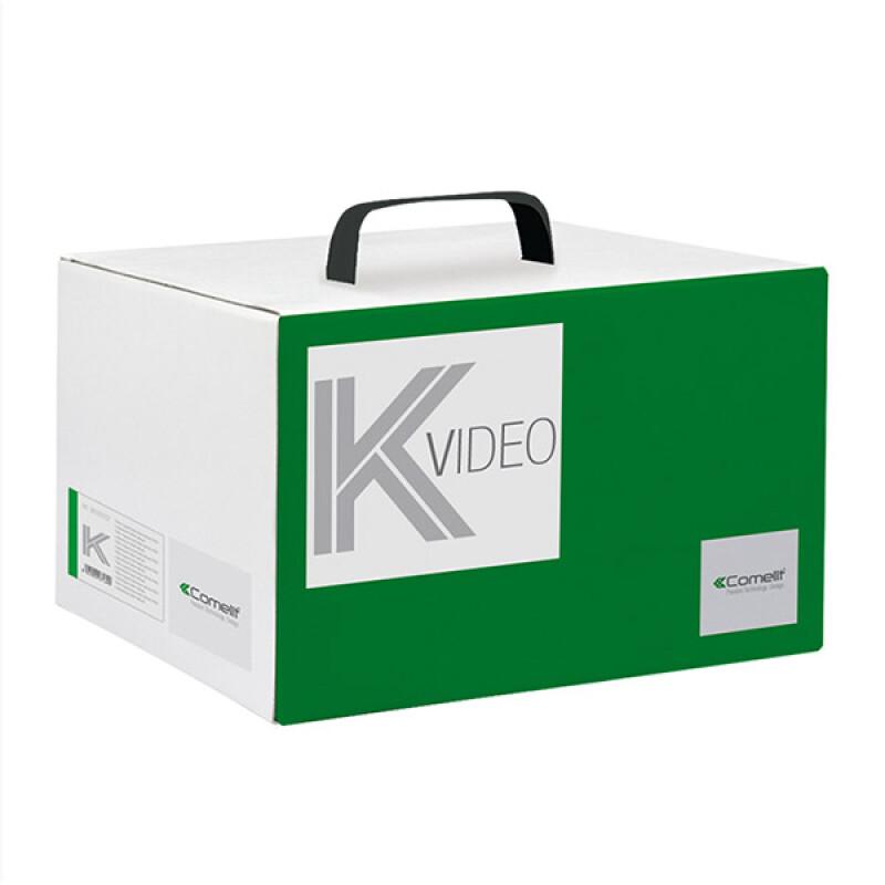 Comelit Quadra Mini Handsfree Wi-Fi videofoon kit – 2-draads – Met doorschakeling naar mobiel