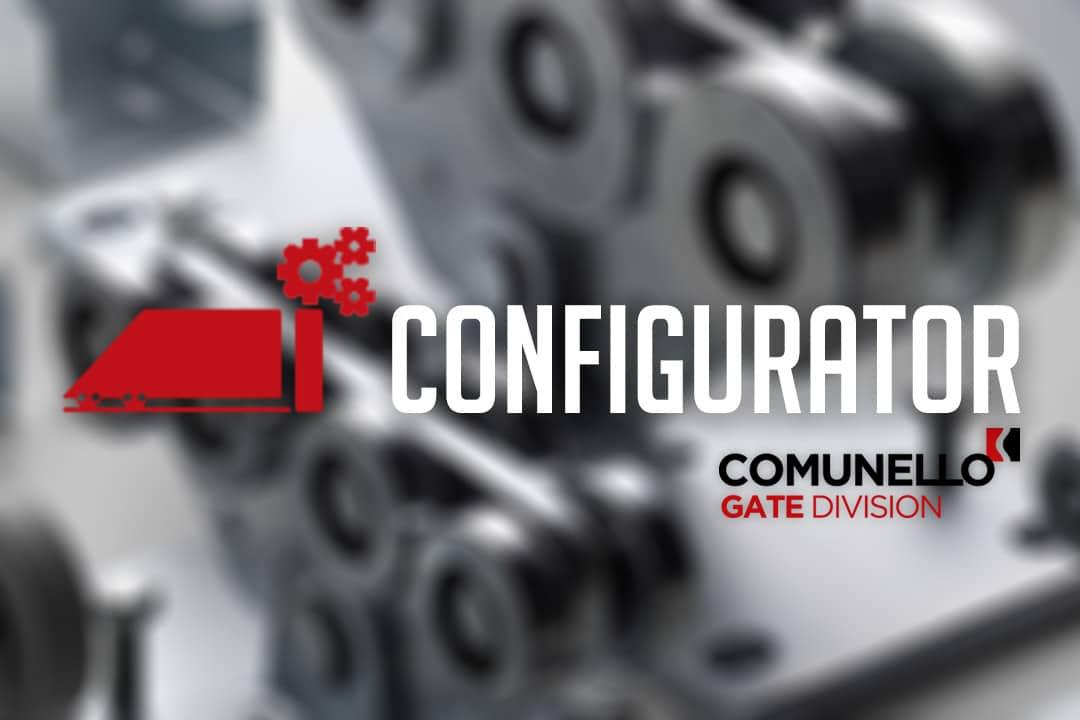 Comunello Configurator voor vrijdragende schuifpoorten