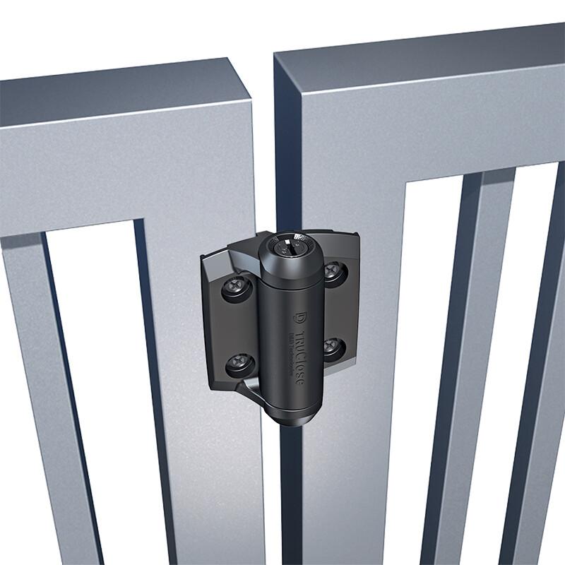 D&D TruClose Regular zelfsluitende scharnier – Voor metalen poorten – 30 kg