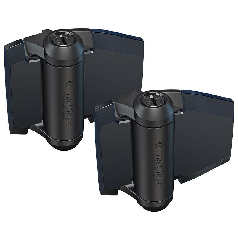 D&D TruClose Regular zelfsluitende scharnier – Voor metalen poorten met hout – 30 kg