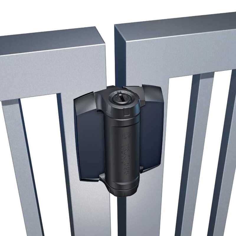 D&D TruClose Heavy Duty zelfsluitende scharnier – Voor metalen poorten – 70 kg
