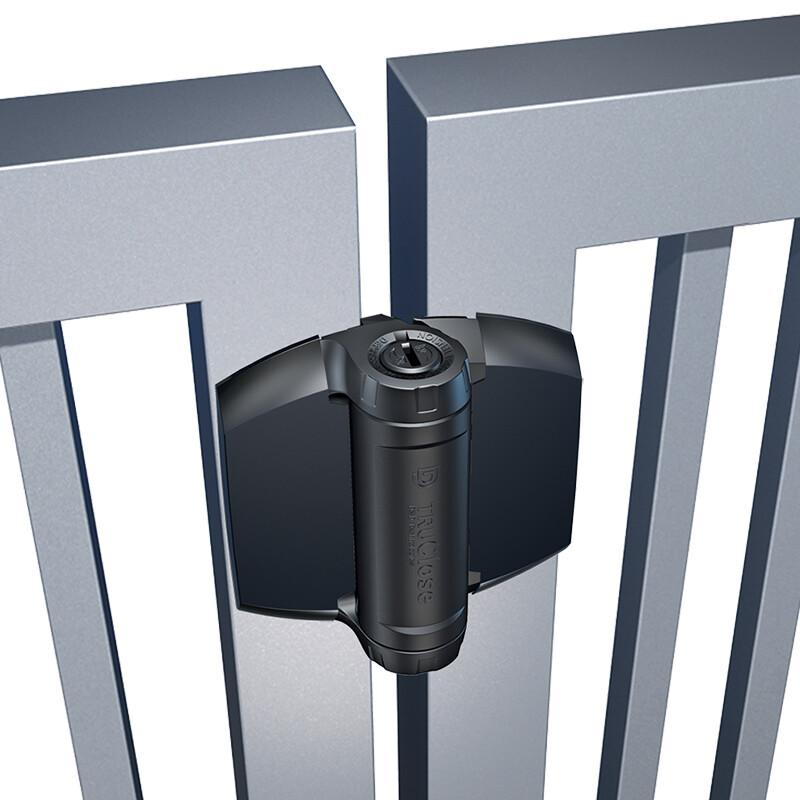 D&D TruClose Heavy Duty zelfsluitende scharnier – Voor metalen & houten poorten – 70 kg
