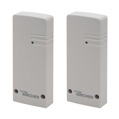 Bircher draadloos overdracht systeem ExpertSystem XRF-1 set – Zender/ontvanger – Lichtgrijs