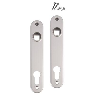 Locinox aluminium afdekplaten – Voor insteeksloten – Prijs per stuk – Aluminium – Set van 2 stuks