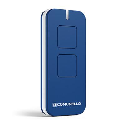 Comunello Victor handzender - 2-kanaals - Rolling code - Blauw