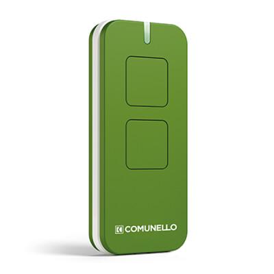 Comunello Victor handzender – 2-kanaals – Rolling code – Groen